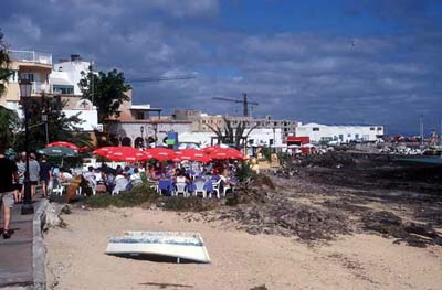 Am Strand in Corralejo