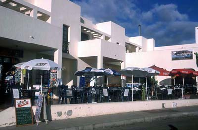 Restaurants und Cafes in Cotillo