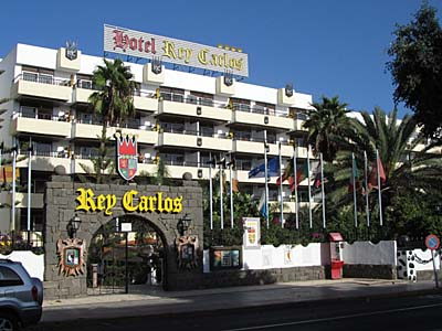 Hotel Rey Carlos in Playa del Ingles