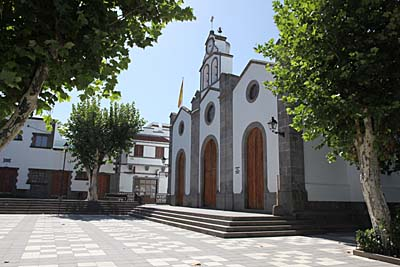 Valleseco - Kirche