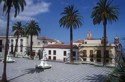 Teneriffa Plaza General Franco