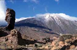 Los Roque und der Teide