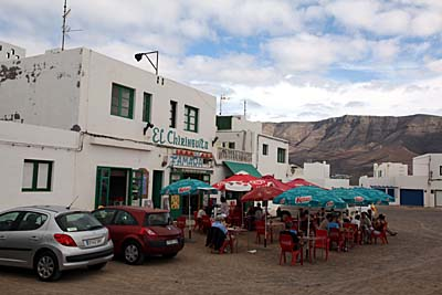 Bar in Caleta de Famara - Lanzarote