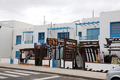 Surfshop in Caleta de Famara - Lanzarote