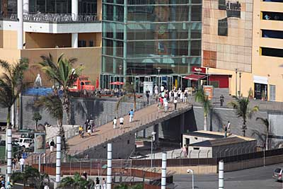 Shopping-Center an der Muelle Santa Catalina - Las Palmas - Gran Canaria
